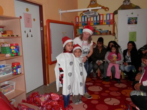 Mikuláš v materskej škôlke 2015