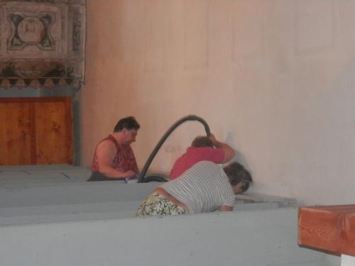 Reštaurovanie stropu